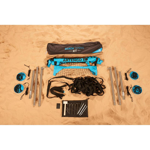 ARTENGO - Beach Tennis Set (Posts, Nets & Net Accessories)