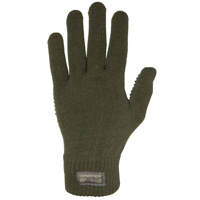 SOLOGNAC - 100 Adult Hunting Gloves, photo 1 of 4