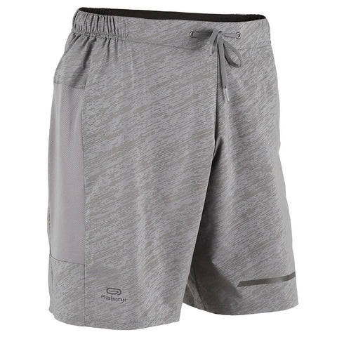 KALENJI - Run Dry Men's Running Shorts with Zip Pocket