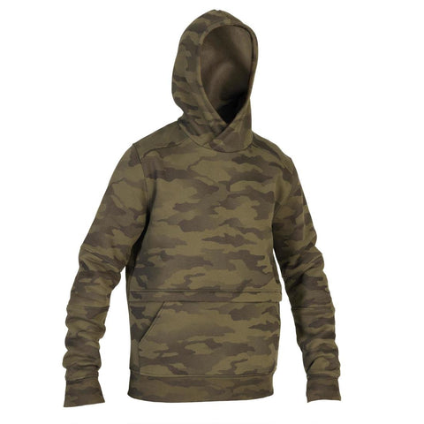 SOLOGNAC - SG 500 Halftone Hooded Hunting Sweater