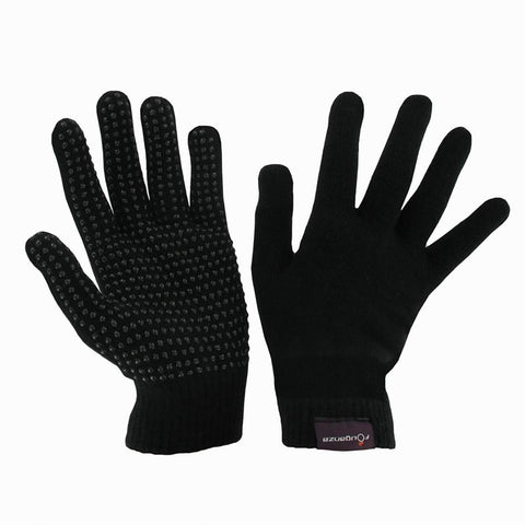 FOUGANZA - Adult Knitted Horse Riding Gloves