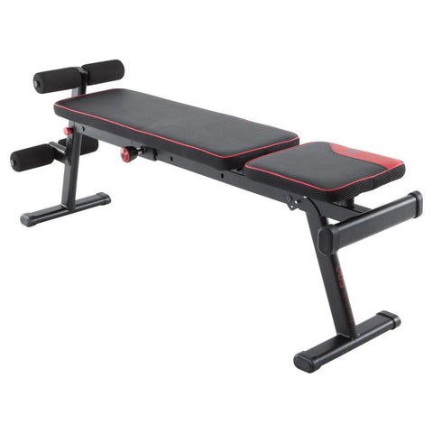DOMYOS - 500 Fold-Down/Incline Weight Bench