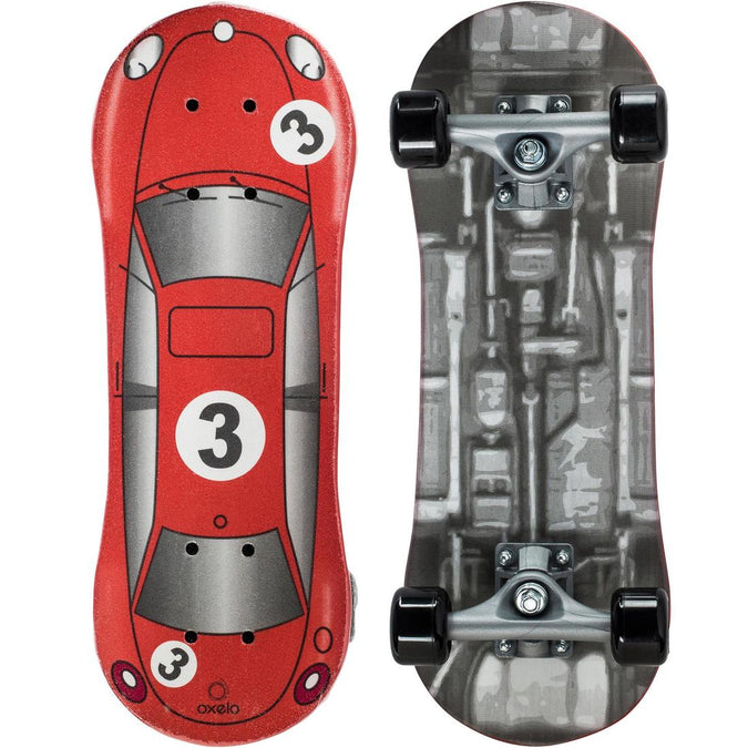 OXELO - Oxelo Play 1 Red Racer Kids' Skateboard, photo 1 of 9