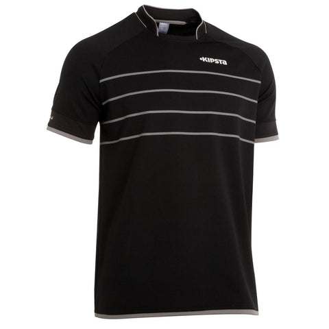 KIPSTA - Full H 300 Adult Rugby Shirt - Black