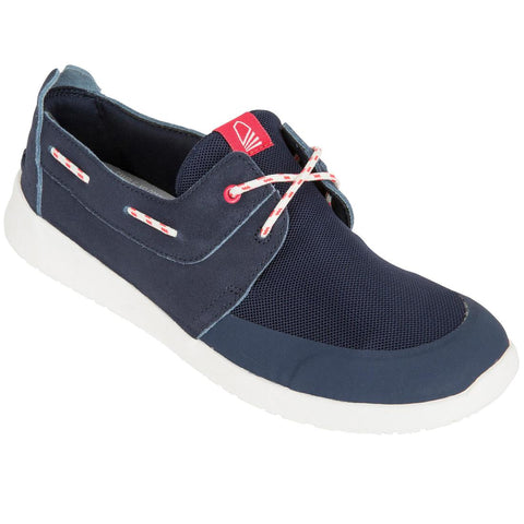 TRIBORD - 100 Women's Leather Boat Shoes