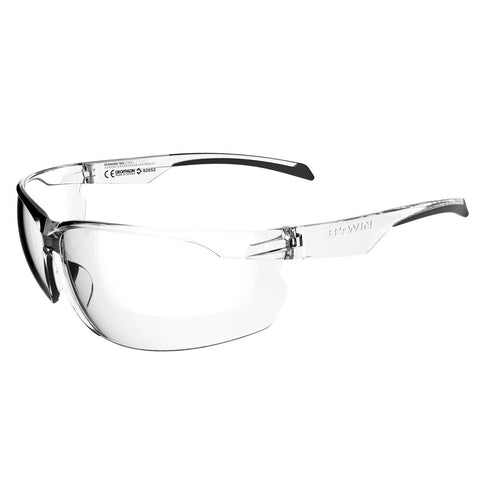 ROCKRIDER - Rockrider St 100 Adult's Transparent Category 0 Cycling Sunglasses