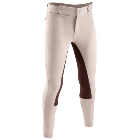 FOUGANZA - Kids Full Seat Horse Riding Jodhpurs