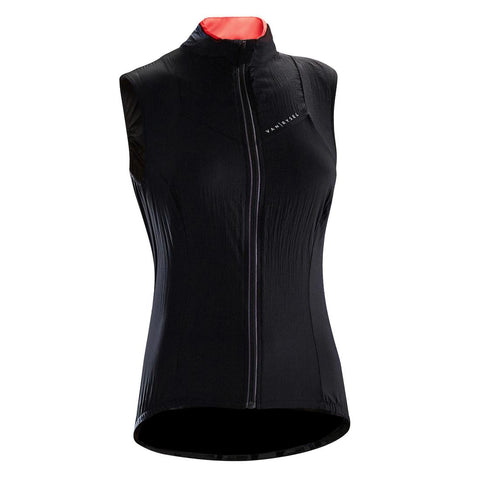 VAN RYSEL - Van Rysel Women's Windproof Sleeveless Cycling Gilet