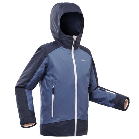 WEDZE - CHILDREN'S SKI JACKET 500 - BLUE