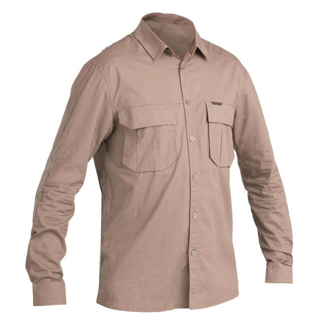 SOLOGNAC - 500 Adult Long-Sleeve Lightweight Hunting Shirt