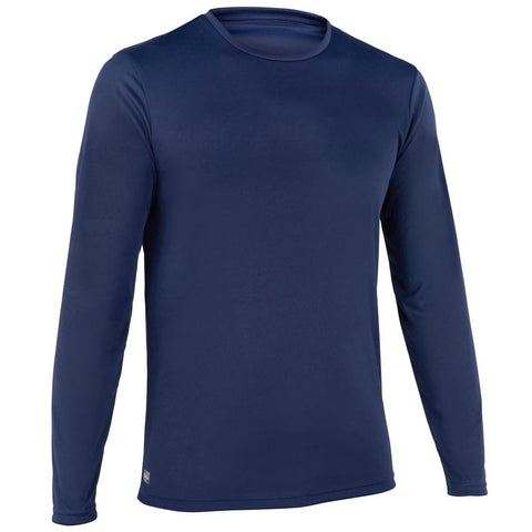 Men's Surfing Long Sleeve UV Protection Water T-Shirt - Blue
