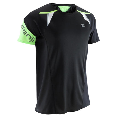 KALENJI - Mens Running T-Shirt - Kiprun Light - Black