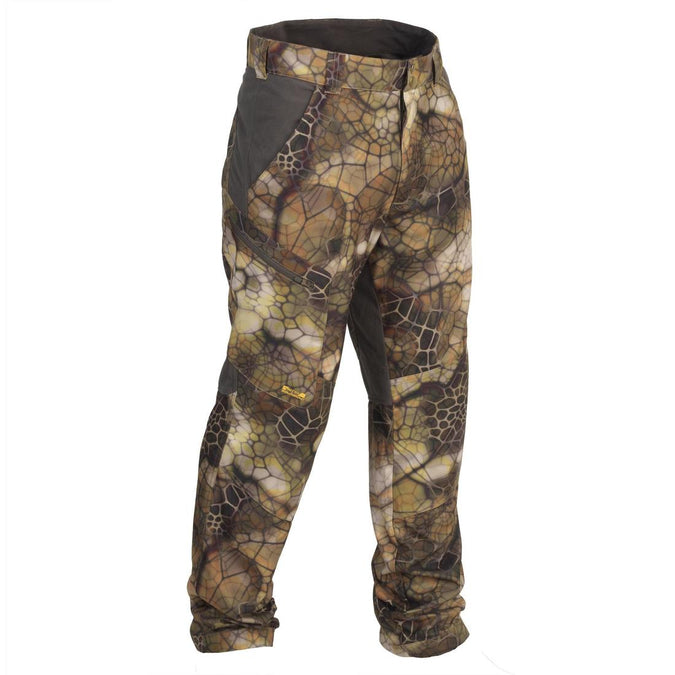 SOLOGNAC - Actikam 500 Adult Hunting Camouflage Trousers, photo 1 of 14