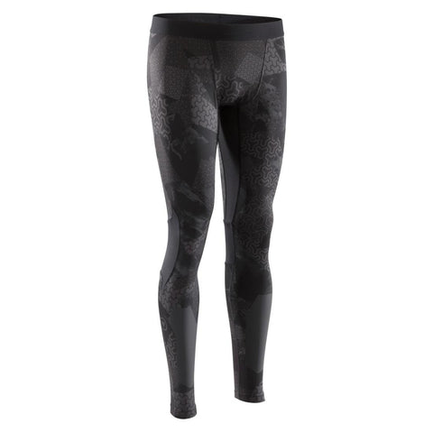 DOMYOS - 500 Cross-Training Leggings - Black/Print