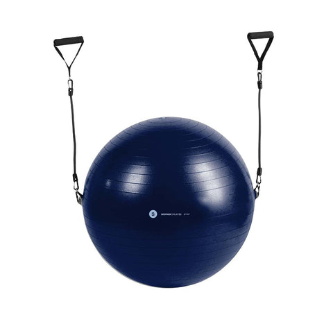 DOMYOS - Anit-Burst Pilates Swiss Ball With Elastic Handles