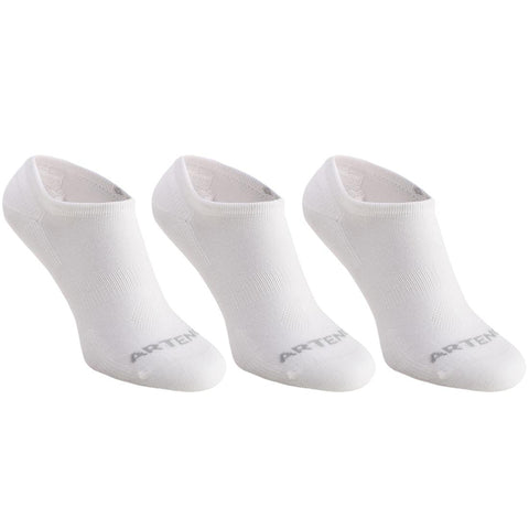 ARTENGO - RS 160 Adult Racquet Sports Low Socks 3-Pack