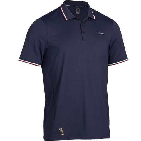 ARTENGO - Dry 500 Men's Tennis Polo Shirt