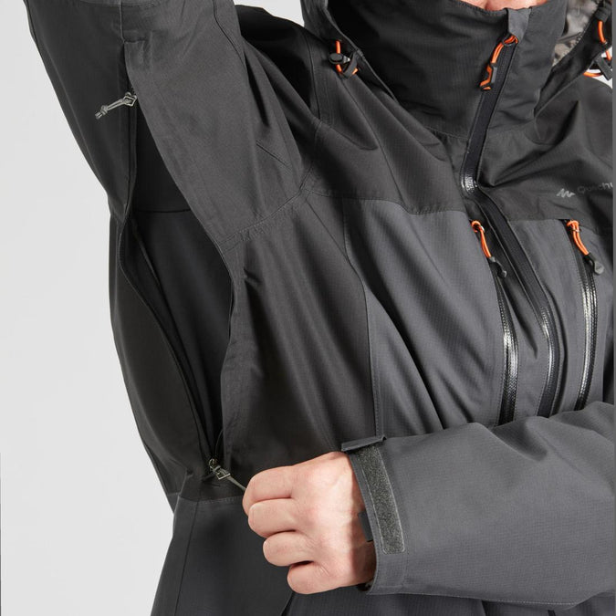 Travel 500 Men's 3 in 1 Hooded Hiking Jacket