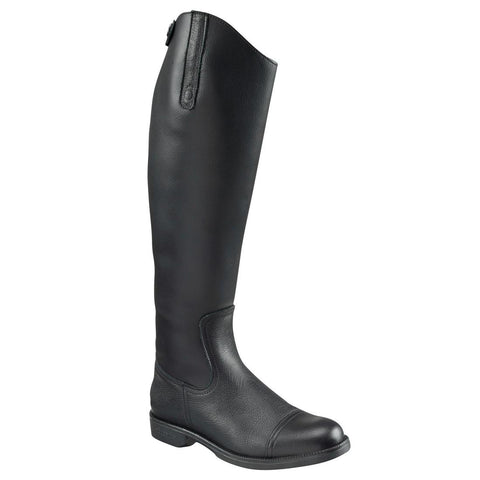 FOUGANZA - Joao Adult Synthetic Horse Riding Boots - Black