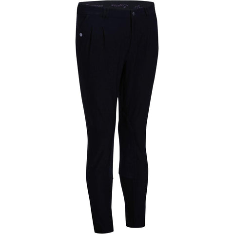 Riding Horse Riding Jodhpurs - Dark Grey,