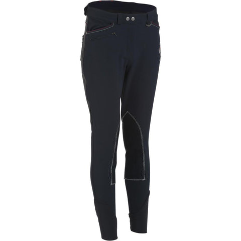 FOUGANZA - Performer 500 Women's Horse Riding Jodhpurs - Navy/Grey