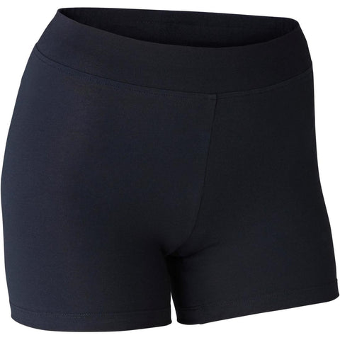 DOMYOS - 500 Fit+ Women's Slim-Fit Gym Shorty