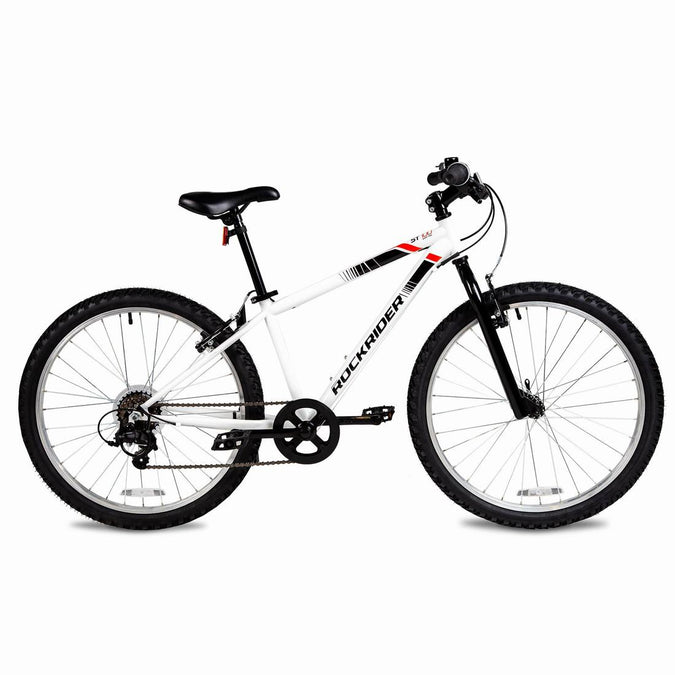 B'TWIN - Rockrider St 100 Kid Mountain Bike 24