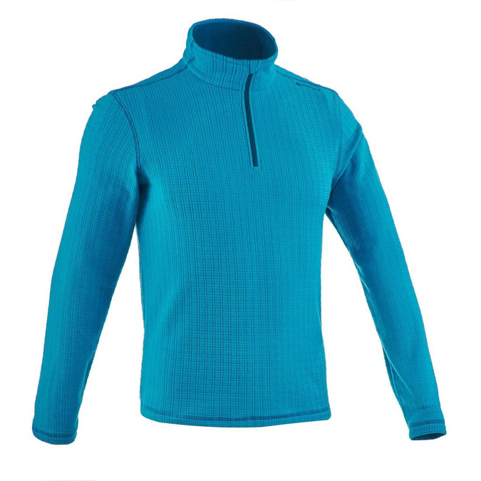 Forclaz 50 Men's Mountain Hiking Fleece - Blue Rip, photo 1 of 7