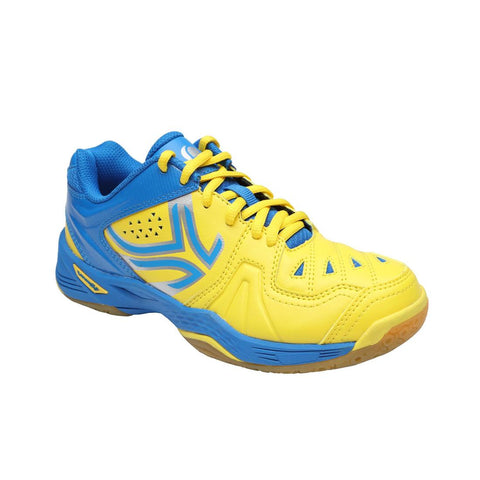 PERFLY - BS800 JR Kids' Badminton Shoes - Yellow/Blue