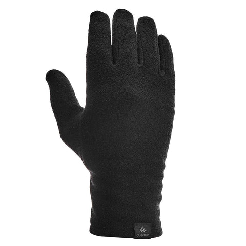 FORCLAZ - Trek 100 Adult Hiking Fleece Glove Liner