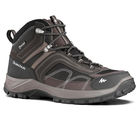 QUECHUA - MH 100 Men's Mid Waterproof Hiking Boots