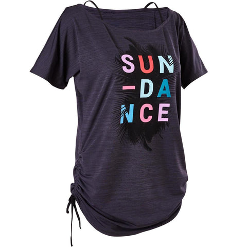 DOMYOS - Women's Fitness/Dance Adjustable T-Shirt