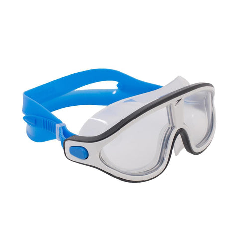 Speedo Rift Clear Swimming Mask Size L - Blue White