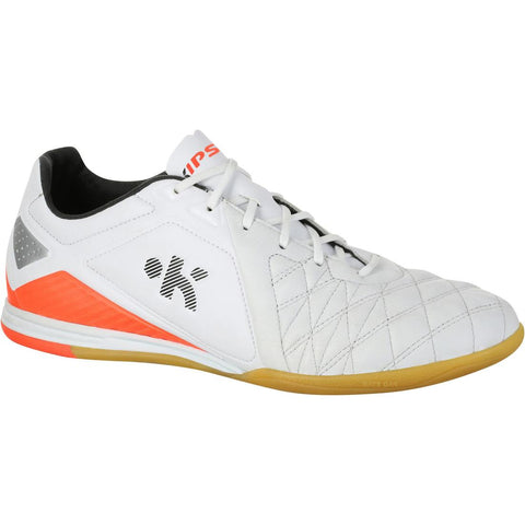 KIPSTA - Adult Futsal Boots - Agility 700 Pro - White/Orange