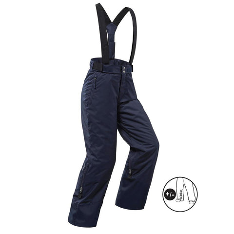 WEDZE - CHILDREN'S SKI TROUSERS PNF 500 - NAVY