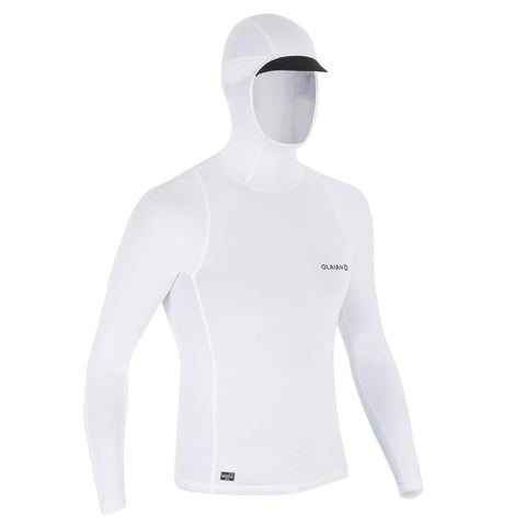 500 Men's Long-Sleeve Surfing T-Shirt With Hood