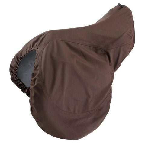 FOUGANZA - Horse Riding Saddle Cover - Brown