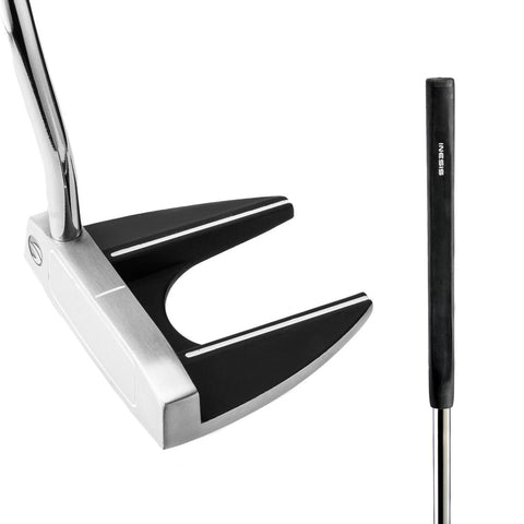 INESIS - 100 Mallet Adult Left Hand Golf Putter 34