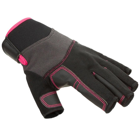 TRIBORD - 500 Adult Fingerless Sailing Gloves