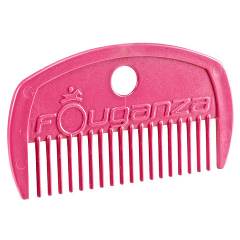 FOUGANZA - Schooling Horse Riding Comb - Pink