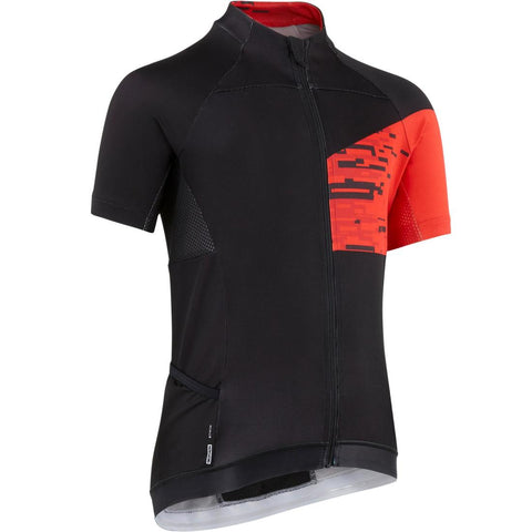B'TWIN - 900 Kids Short Sleeved Cycling Jersey
