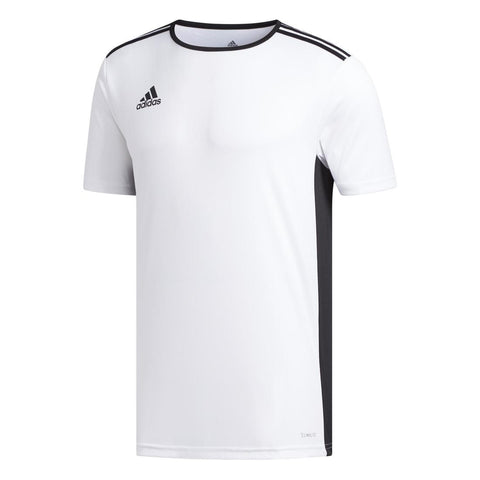 Adidas Entrada Adult Football Jersey - White/Black