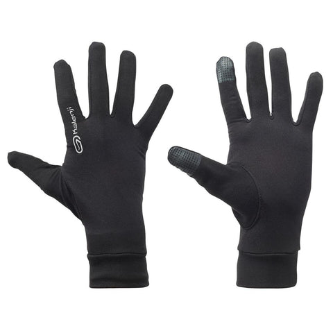 KALENJI - Warm & Lightweight Tactile Running Gloves