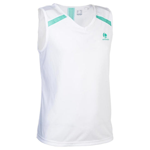 ARTENGO - 900 Girl's Tennis Tank Top