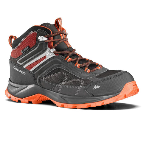QUECHUA - MH 100 Mid Men's Waterproof Hiking Boots