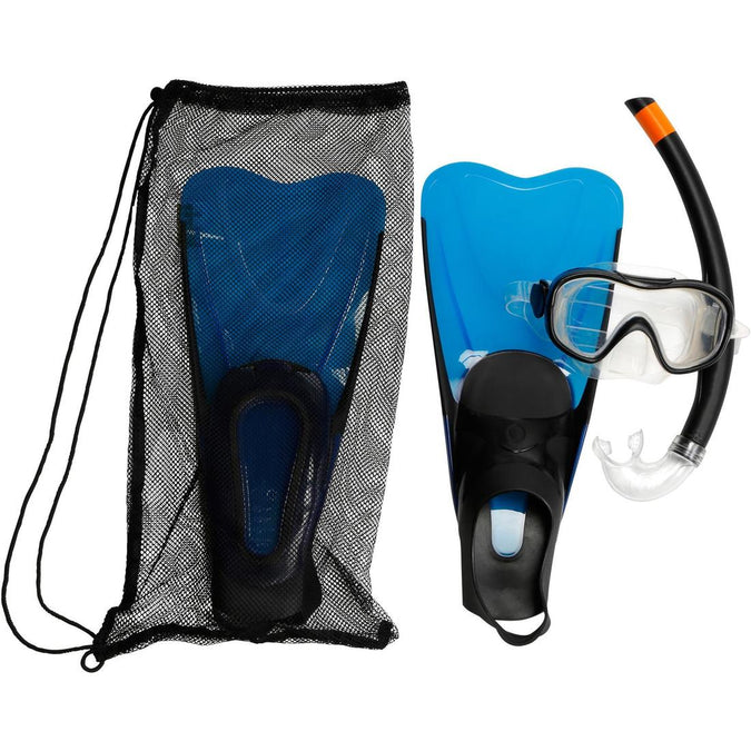 SUBEA - FMS 100 Adult Freediving Snorkel Fins Mask Set, photo 1 of 18