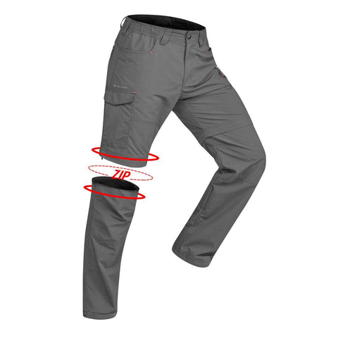 QUECHUA - Trek 100 Men's Convertible Trekking Pants