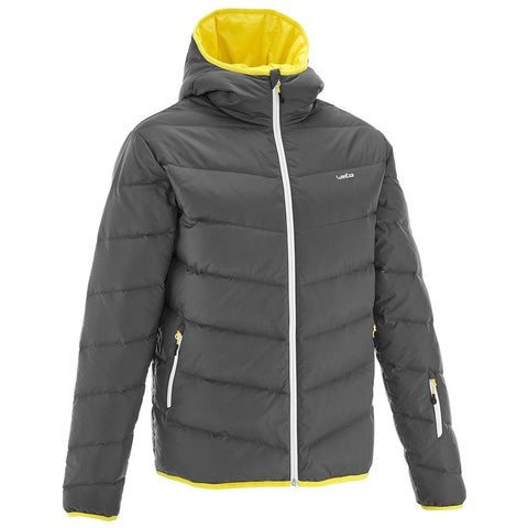 WEDZE - SKI-P 500 MEN'S WARM SKI JKT - GREY