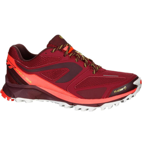 KALENJI - Kiprun Trail XT6 Women's Trail Running Shoes - Burgundy