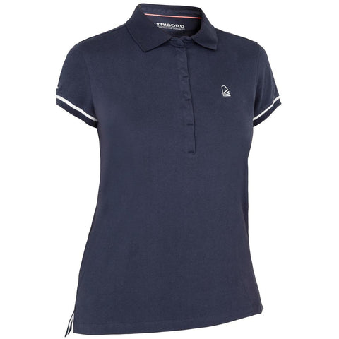 TRIBORD - 100 Women's Short-Sleeve Polo Shirt